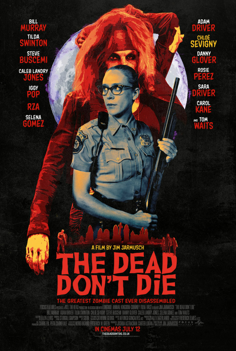 The Dead Don't Die poster chloe sevigny
