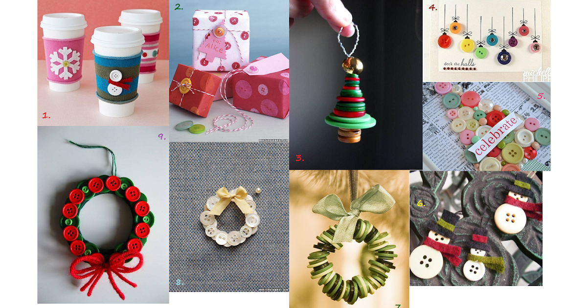 Turkishly Delightful: 25 Days Of Ornaments: Button