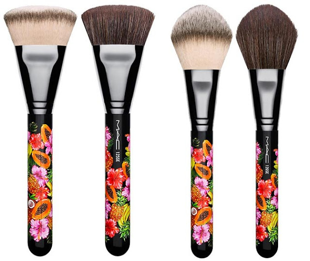 MAC Fruity Juicy Makeup Brushes