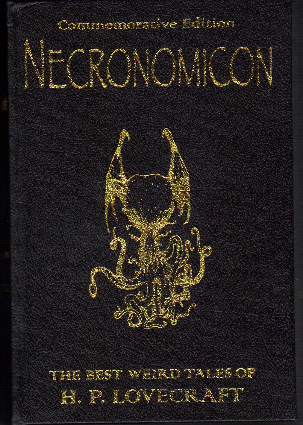 hp lovecraft necronomicon