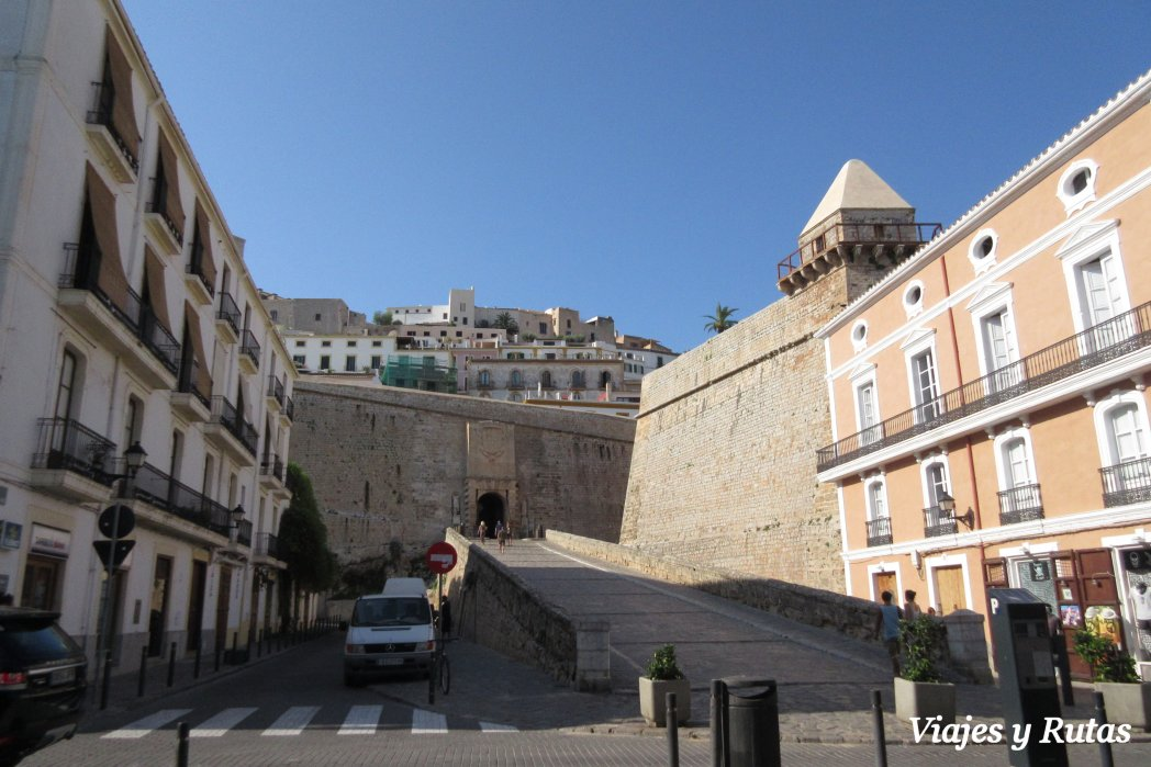 Portal Ses Taules, dalt Vila, Ibiza