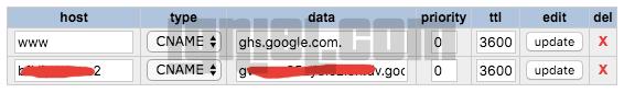 Cara Setting DNS dan CNAME untuk Domain Blogger