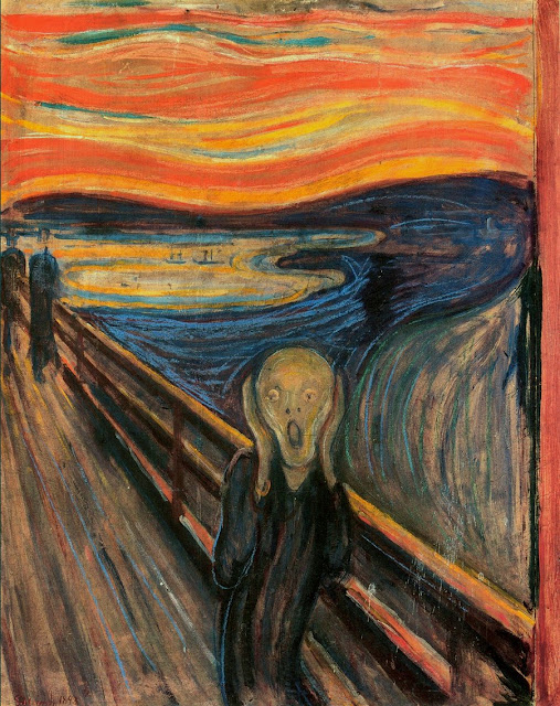Edvard Munch's 'Scream,' is the cornerstone of the #NorwayScream campaign by VisitNorway.com.