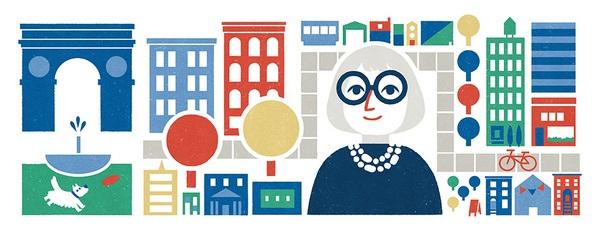 Biodata Profil Jane Jacob Wartawan Amerika  Hari ini Ulang Tahun Ke 100 Di Peringati Google Doodle