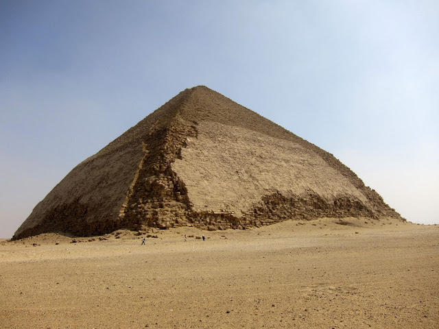 Particles could reveal how Bent Pyramid was built