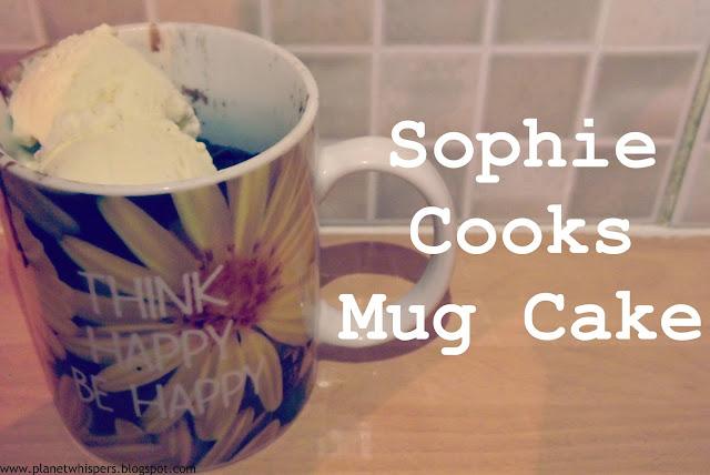 Sophie Cooks- Mug Cake