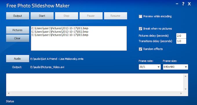 Free Photo Slideshow Maker - Φτιάξτε SlideShow στη στιγμή