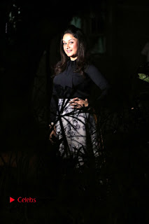 Actress Sonia Agarwal Stills in Black Top at Yevanavan Tamil Movie Audio Launch Event  0018.jpg