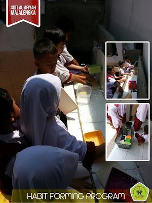 Program habit forming (Pembentukan Kebiasaan)  di SDIT Al Afiyah Majalengka