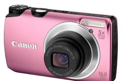 Canon PowerShot A3300 IS Series Driver Download Windows, Mac