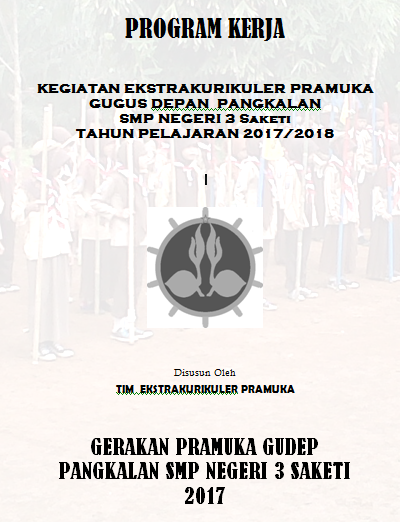 Contoh Program Kerja Kegiatan Ekstrakurikuler Pramuka Pendidikan Kewarganegaraan Pendidikan Kewarganegaraan