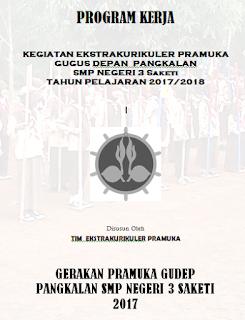 Contoh Program Kerja Kegiatan Ekstrakurikuler Pramuka