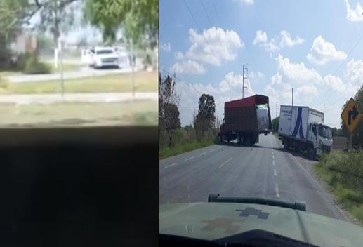 VIDEO; Infernal balacera en Valle Hermoso Tamaulipas, loqueos, balaceras y persecuciones se registran