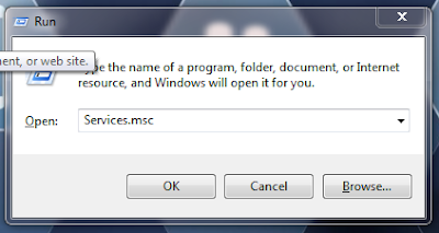 """ketik services.msc untuk mengatasi error 38 di corel"""