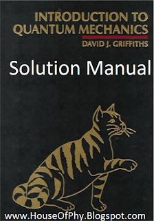 griffiths quantum mechanics solutions