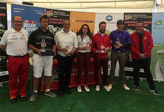 Alberto lagos gana la 3 clasificatoria para el mundial for Golf jardin de aranjuez
