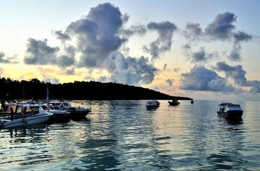 Wisata Surga Diver, Pulau Payung Besar