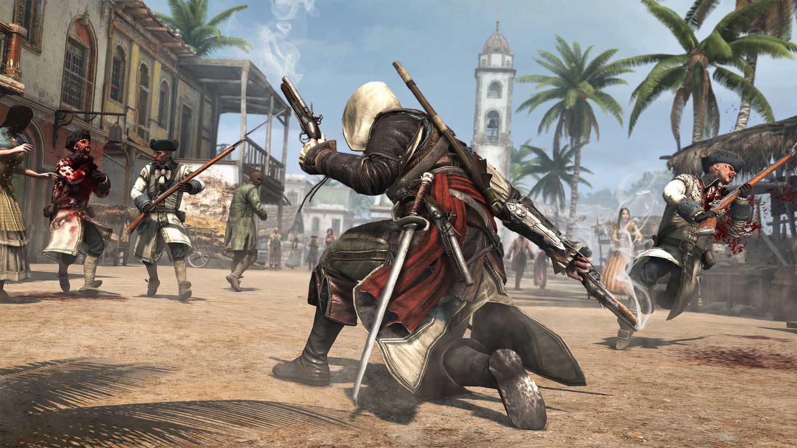 تحميل لعبة Assassin's Creed 4 Black Flag مضغوطة برابط واحد مباشر + تورنت كاملة مجانا