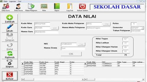 Download Aplikasi Olah Nilai Sekolah Terbaru Otomatis Format Excel