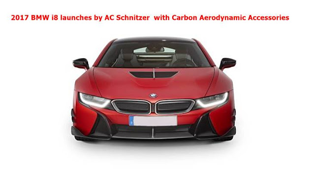 2017 BMW i8 launches by AC Schnitzer  with Carbon Aerodynamic Accessories