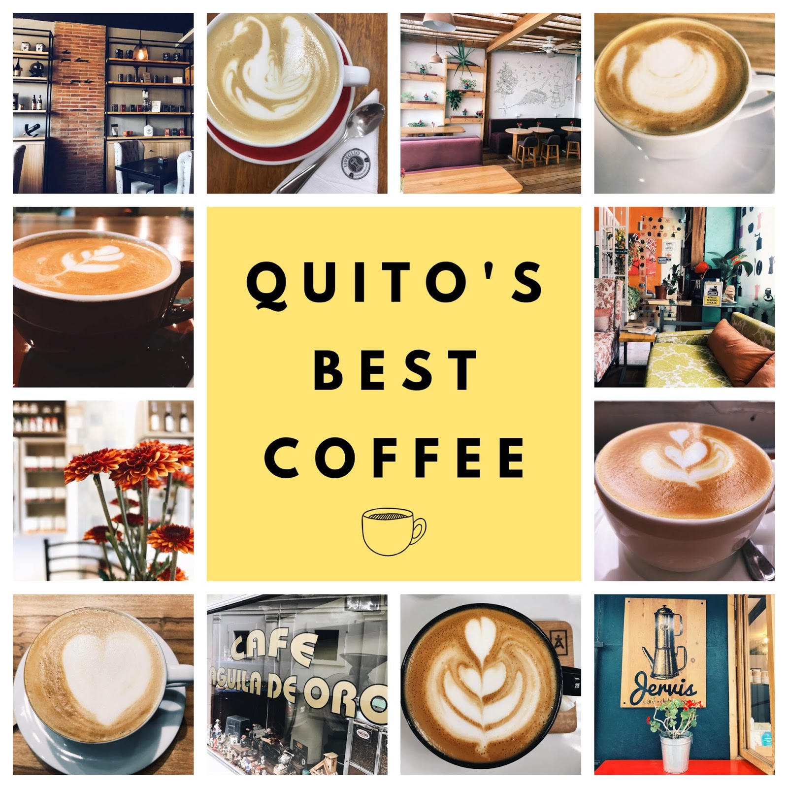 12 Quito Coffee Shops that Prove Ecuador's Best Beans Aren't Being Exported