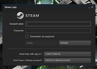 Steam - Login