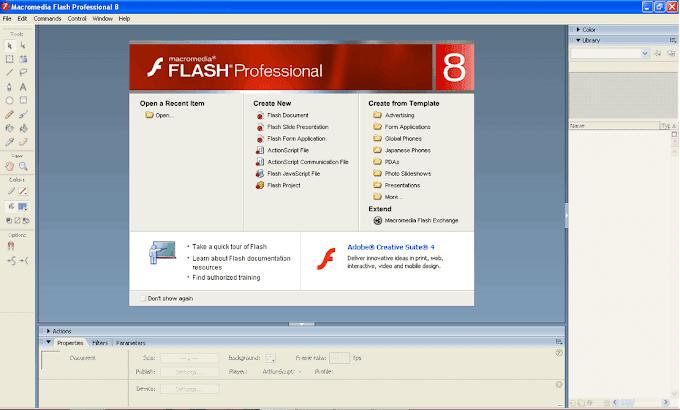 Belajar Mengenal Macromedia Flash 8