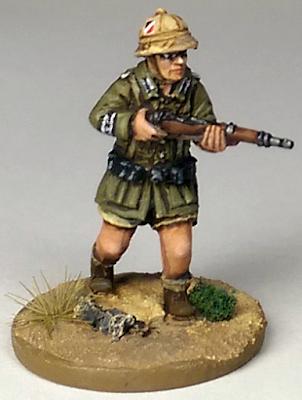Afrika Korps Pith Helmet 28mm Miniature