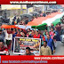 मधेपुरा शहर में शहीदों की याद में 150 फीट के तिरंगा यात्रा में देशप्रेम का जज्बा