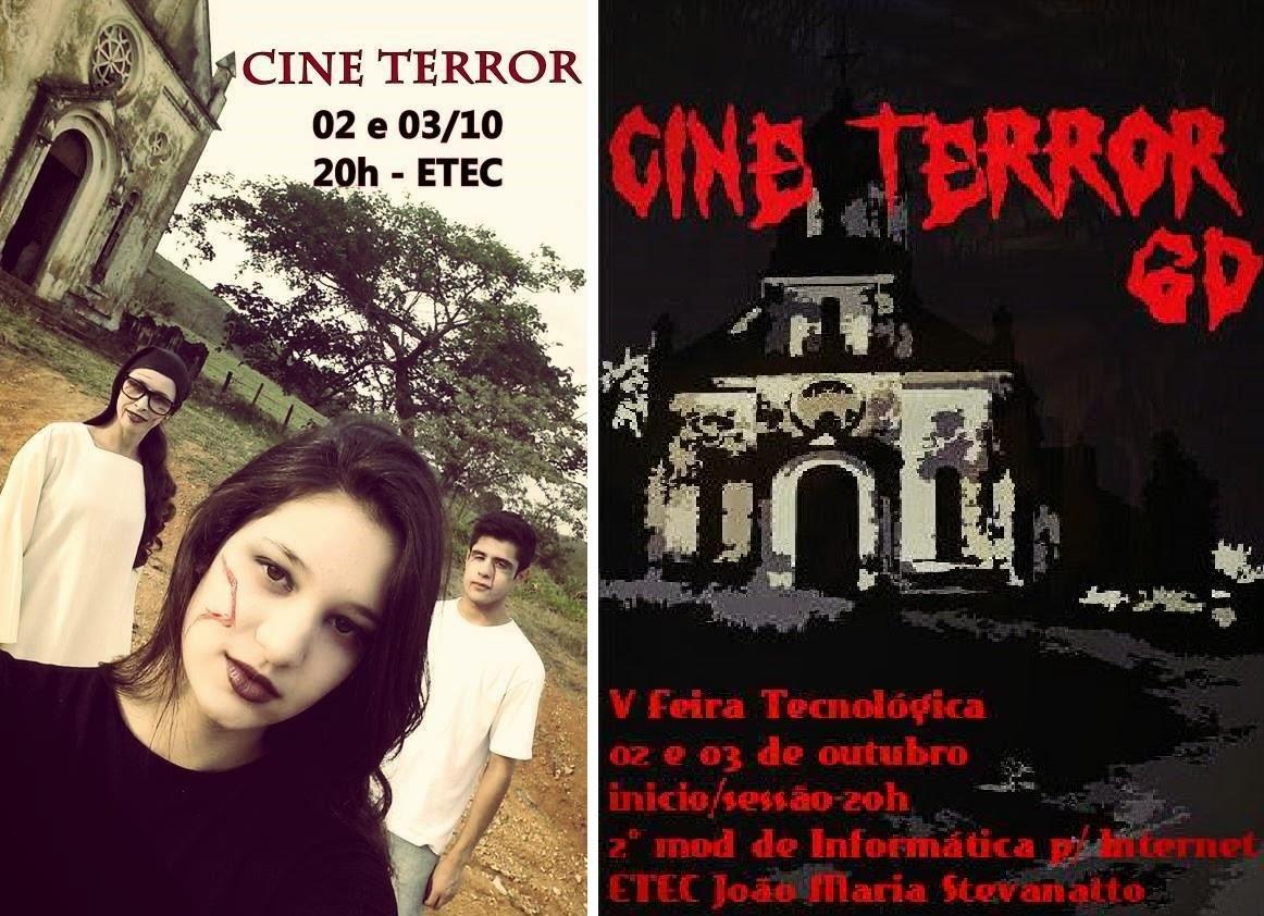 Imagens de divulgação do Cine Terror 6D