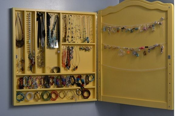 Jewelry Cabinet from Crib