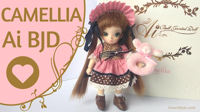 Koori Style, KooriStyle, Doll, dolls, Ai BJD, Ball Jointed doll, Ai ball jointed doll, miniature, muñeca, muñecas, unboxing, review, reseña, opening, miniatura, juguete, juguetes, toy, toys, cute, kawaii, pullip, groove, Camellia