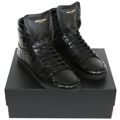 saint laurent hi tops