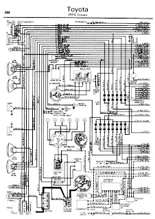 crown fc wiring diagrams repair-manuals: toyota crown 1962-70 wiring diagrams #15