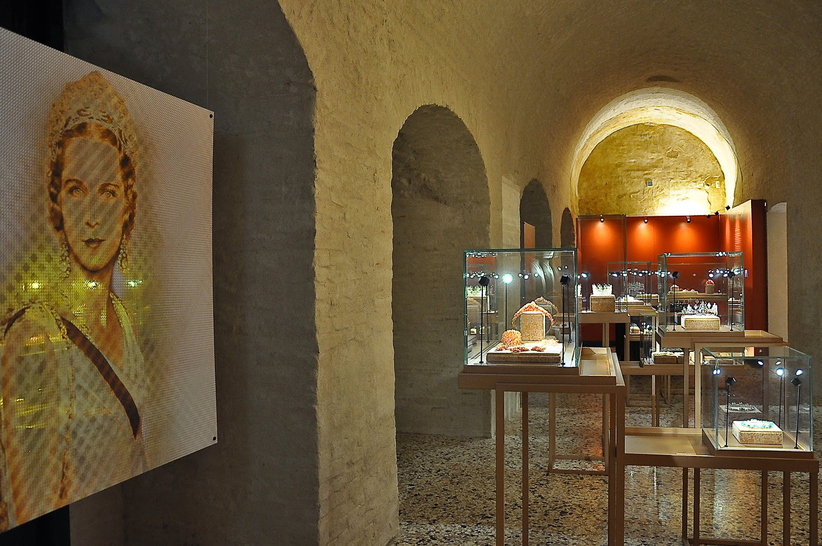 The Symbol room in the Museum of the Jewellery in Vicenza