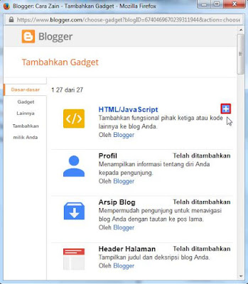 Cara Memasang Widget Alexa Rank Di Blog Gratis Terbaru