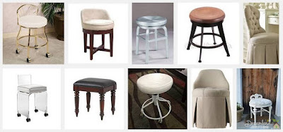 Swivel Vanity Stool: Add Extra Seating to Any Room with a Swivel Vanity Stool