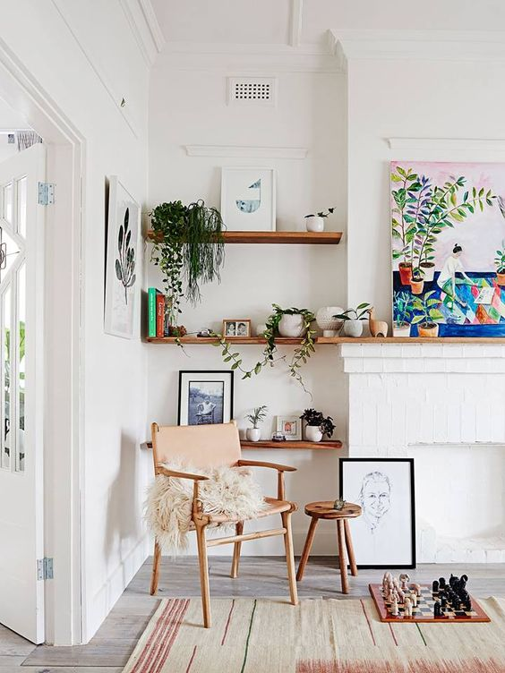 Scandi Style with Plants