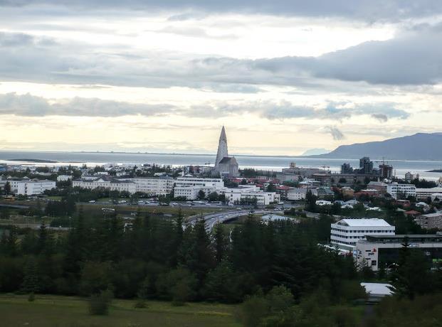 Reykjavik panorama dal perlan