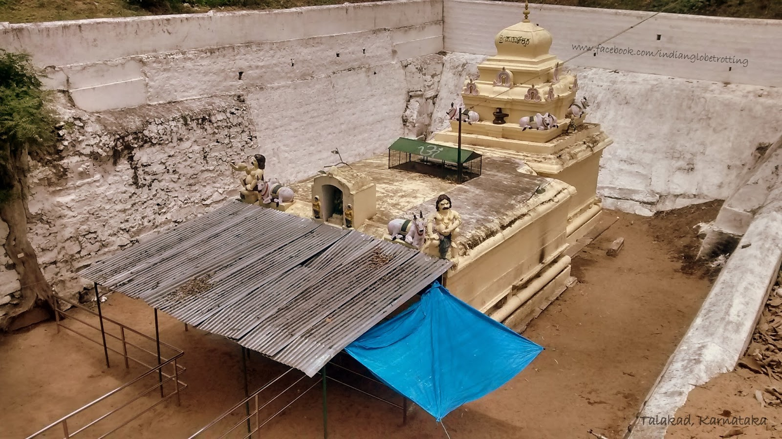 Pathaleshwara Temple in talakad