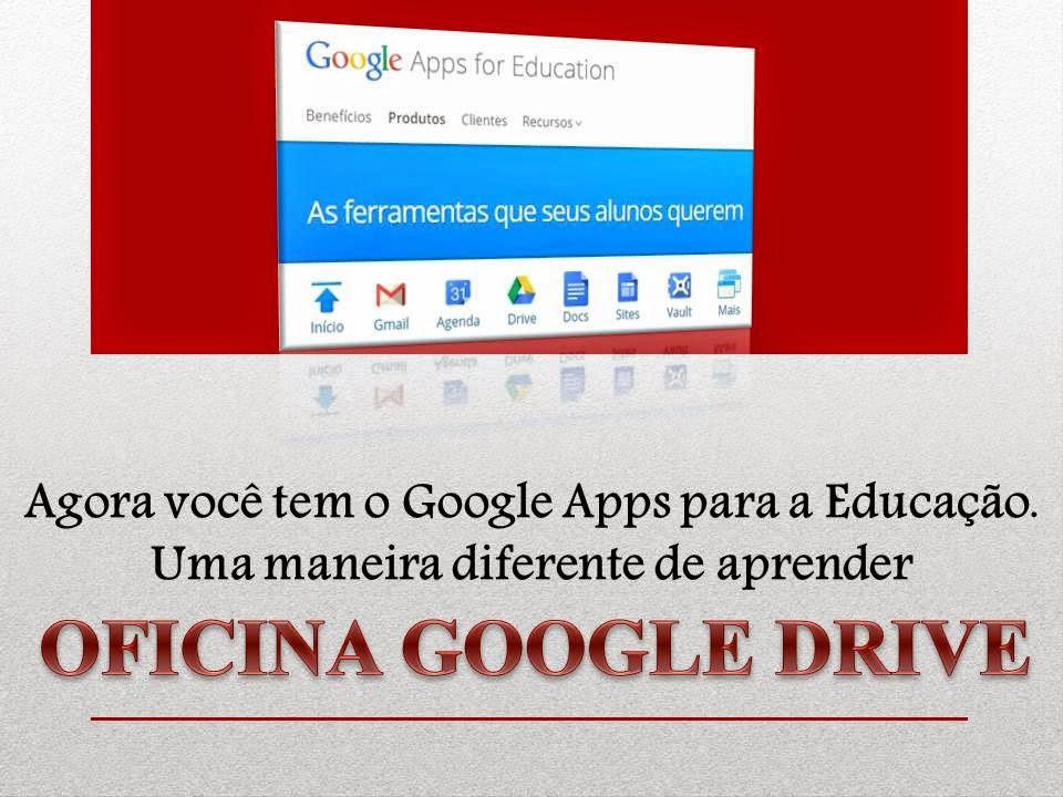 Oficina Google Drive Na Escola Nedaulino Viana