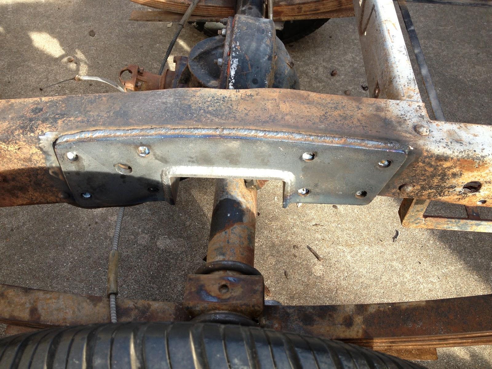 Had F100 Ford Notch Headers Frame