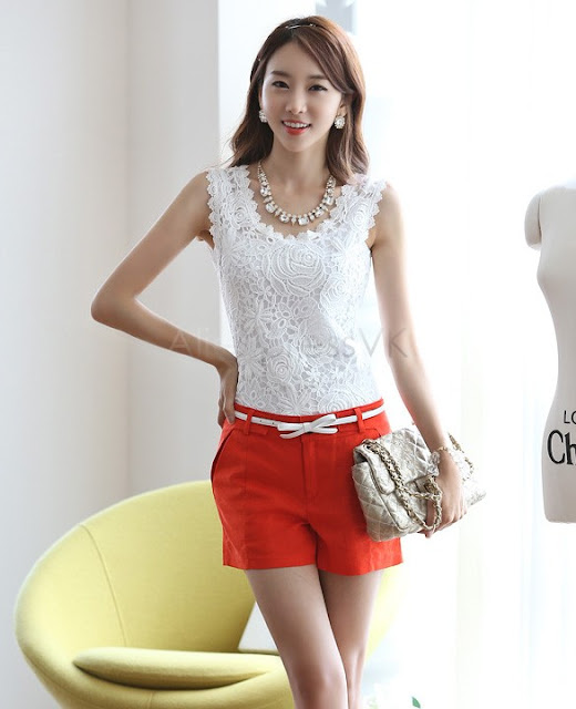 Tank Top Casual Branded Korea Cantik dan Sexy