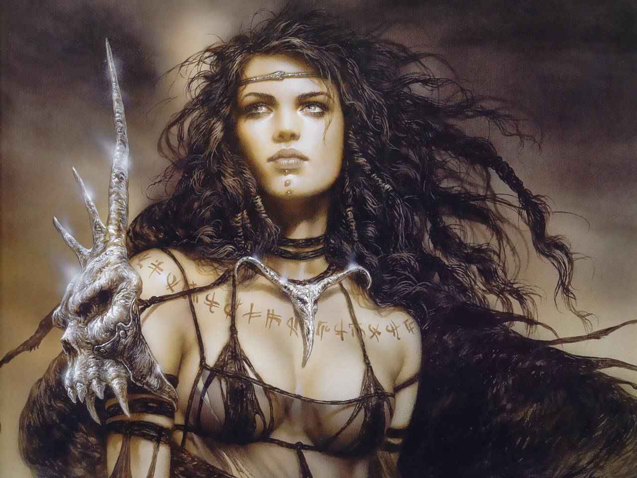 Think, fantasy warrior girl