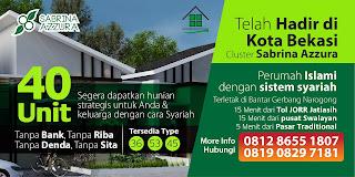 perumahan islam Sabrina Azzura