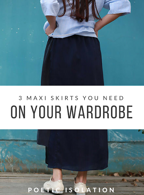 StyleWe maxi skirts wardrobe essentials