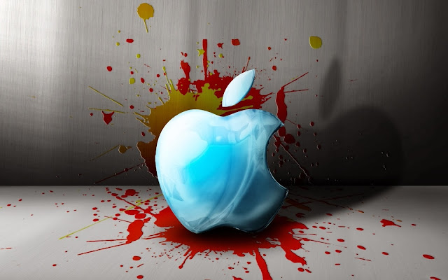 Mooie Apple wallpaper in 3D