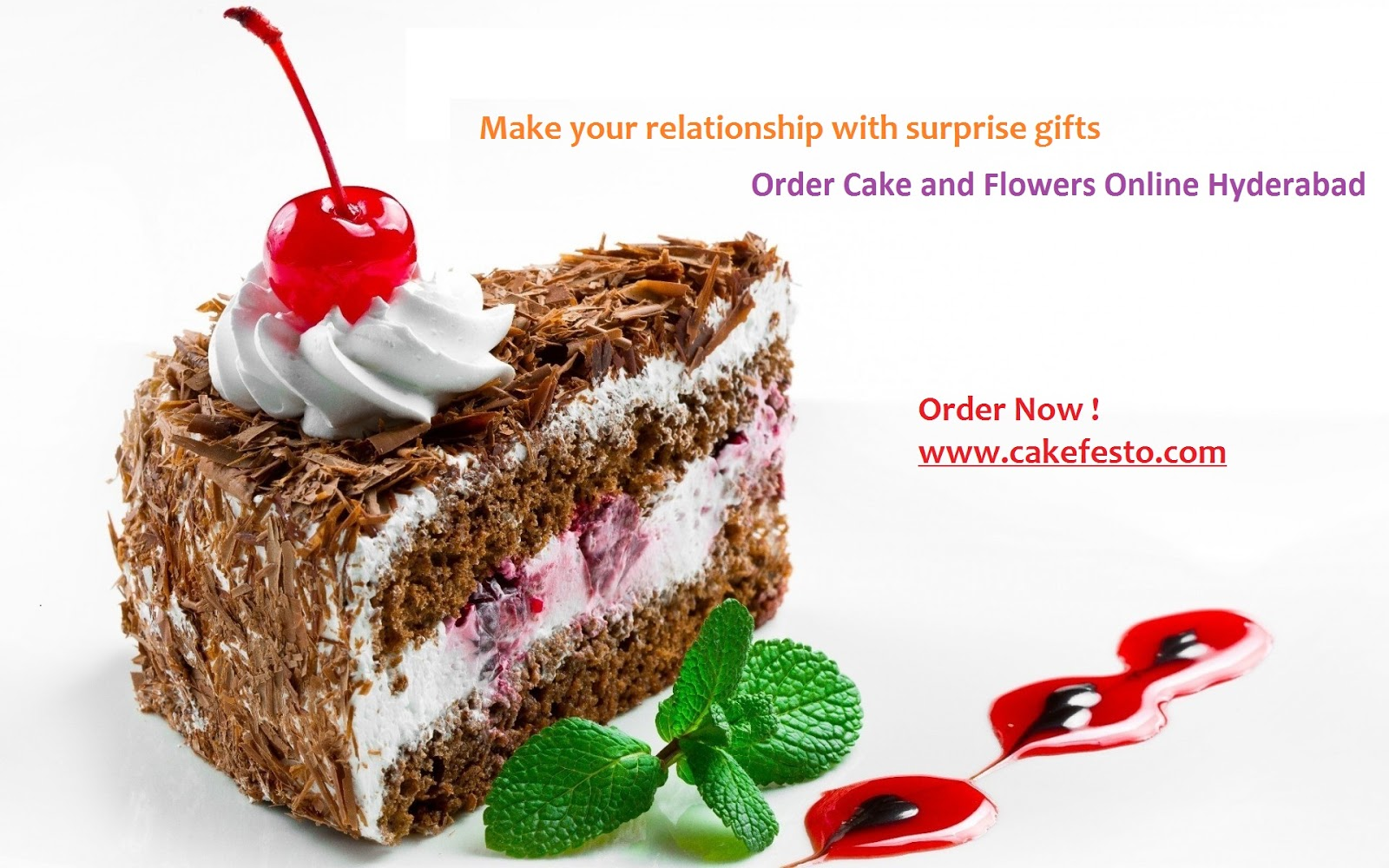 Order Cake And Flowers Online Hyderabad Make Your