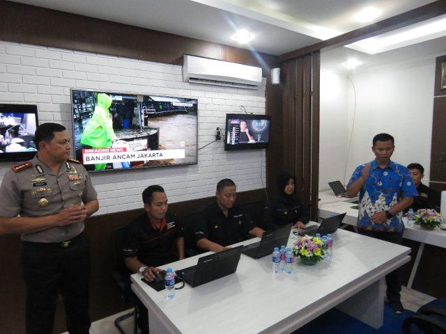 Resmikan Ruang Media Center, Polres Metro Jakarta Barat Merayakan HPN