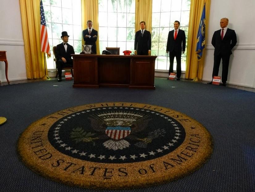 O que fazer em Gramado - Sala dos presidentes dos Estados Unidos - Dreamland